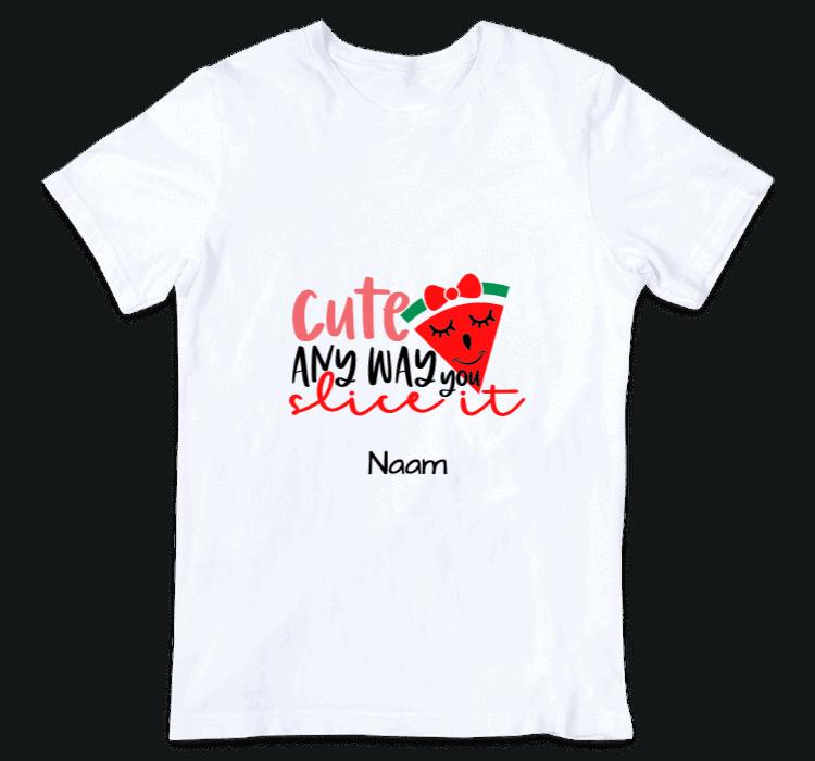 kinder t shirt cute watermelon slice