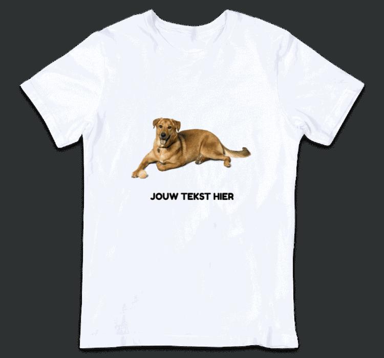 kinder t shirt met eigen foto ontwerpen