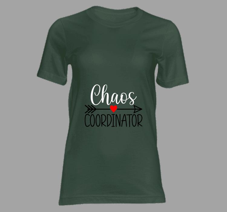 dames t shirt chaos coordinator t