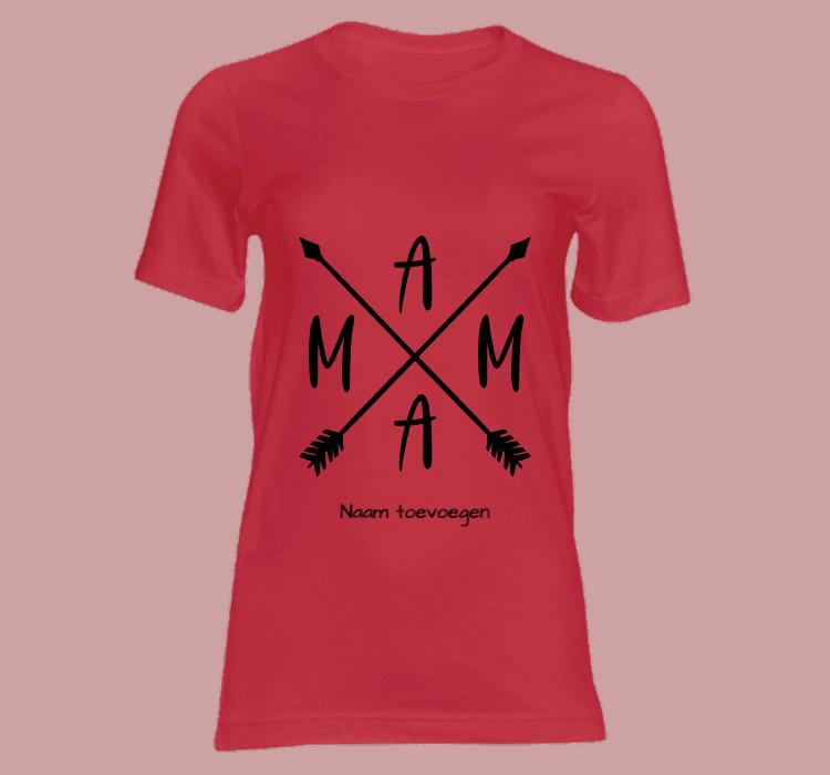 dames t shirt mama t