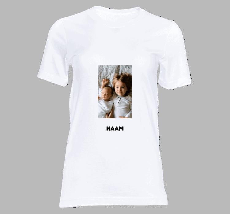 dames t shirt met eigen foto ontwerpen t