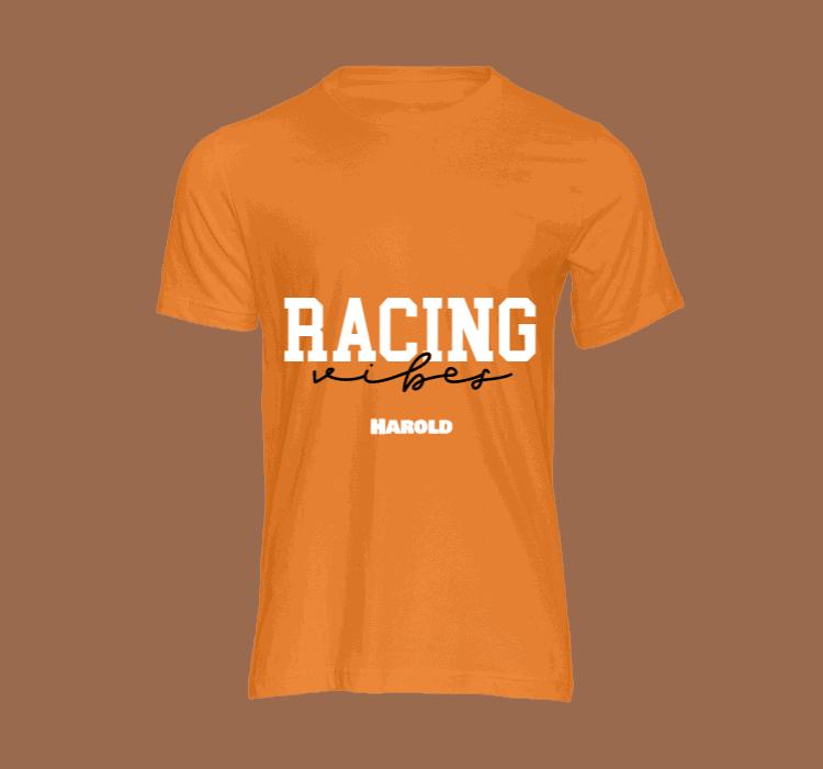 heren t shirt racing vibes t